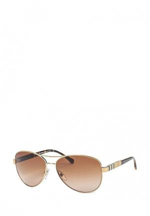 Очки солнцезащитные Burberry. Цвет: разноцветный