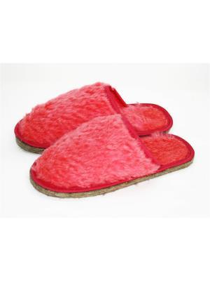 Тапочки Тефия. Цвет: розовый, малиновый