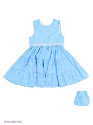 Комплект одежды Три ползунка. Цвет: голубой