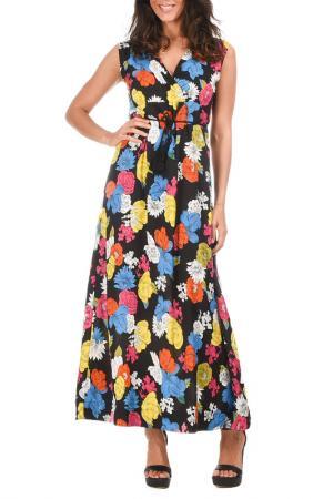 Платье AZURA. Цвет: мультицвет