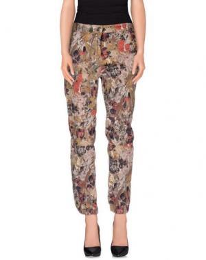Повседневные брюки EMMA&GAIA. Цвет: зеленый-милитари