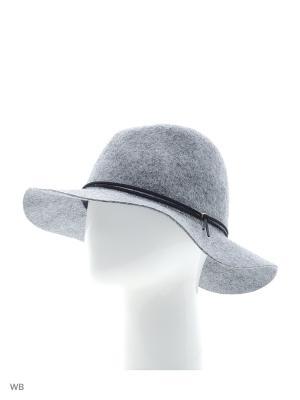 Шляпа Maxval. Цвет: серый меланж