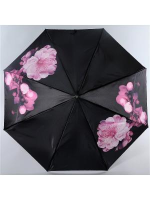 Зонт Trust. Цвет: черный, бледно-розовый, фуксия