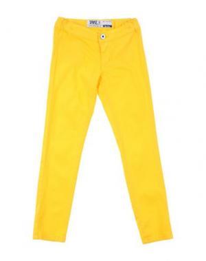 Джинсовые брюки TAKE-TWO TEEN. Цвет: охра