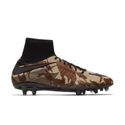 Мужские футбольные бутсы для игры на твердом грунте  Hypervenom Phantom II SE Nike. Цвет: коричневый