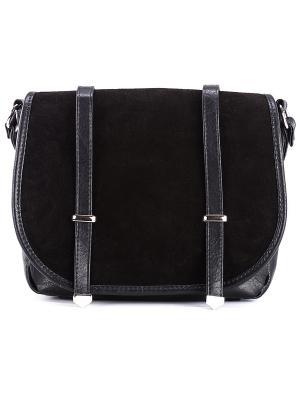 Женская сумка S.LAVIA. Цвет: черный