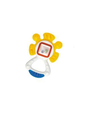 Погремушка-прорезыватель Солнышко Tolo. Цвет: белый
