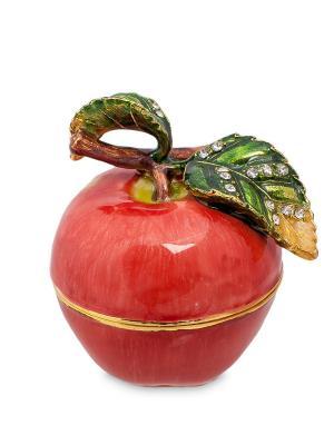 Шкатулка Яблоко Nobility. Цвет: красный