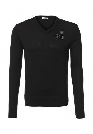 Пуловер Bikkembergs. Цвет: черный