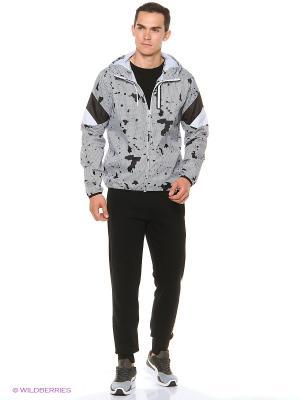 Куртка Disc Tri Runner Puma. Цвет: белый, черный