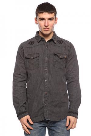 Рубашка  Bayou-Born Diy Washed Floyd Insight. Цвет: серый