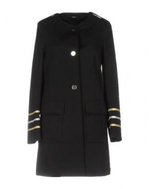 Легкое пальто CARLA G.. Цвет: черный