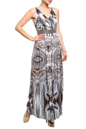 Платье YARMINA. Цвет: принт змея