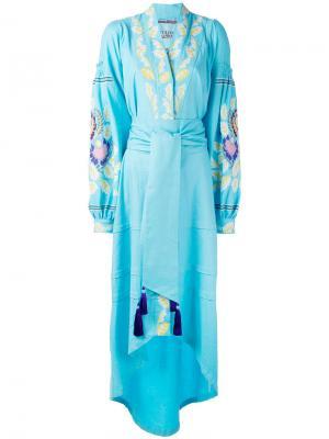 Платье Eden Tree Yuliya Magdych. Цвет: синий