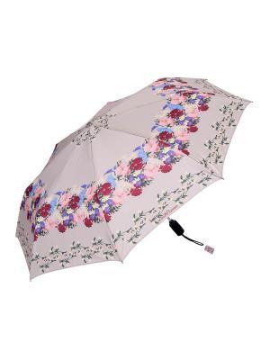 Зонт Slava Zaitsev. Цвет: бежевый