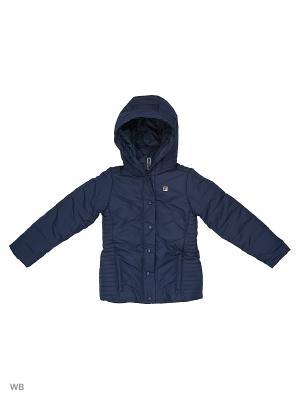 Куртка FILA. Цвет: темно-синий, антрацитовый, белый