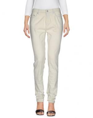 Джинсовые брюки BLK DNM. Цвет: бежевый