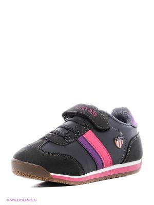 Кроссовки U.S. Polo Assn.. Цвет: черный, фиолетовый, розовый
