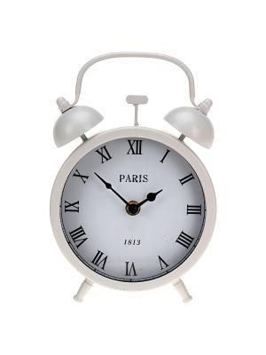 Часы настенные Mitya Veselkov. Цвет: белый, черный