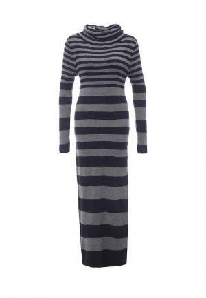 Платье Blue Oltre. Цвет: разноцветный