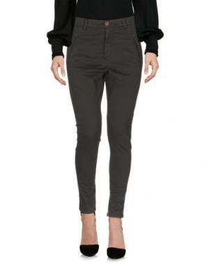 Повседневные брюки ADELE FADO. Цвет: зеленый-милитари