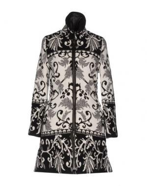 Пальто MARANI JEANS. Цвет: темно-коричневый