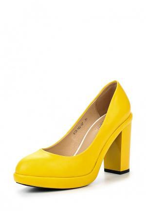 Туфли Dino Ricci Select. Цвет: желтый