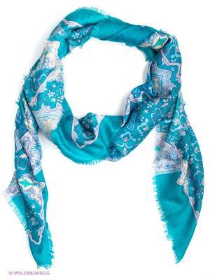 Платок Eleganzza. Цвет: голубой, бежевый, бледно-розовый