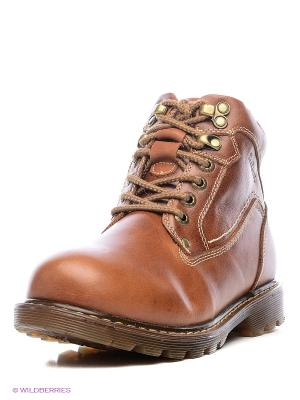 Ботинки Shoiberg. Цвет: рыжий