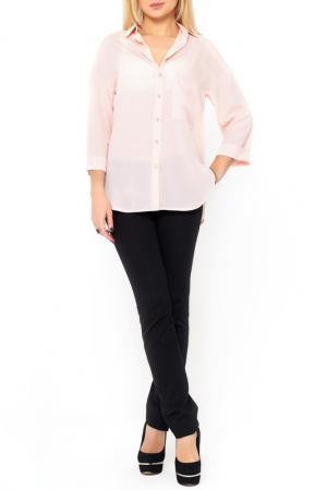 Рубашка Majaly. Цвет: светло-розовый