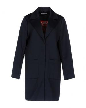 Легкое пальто WEILI ZHENG. Цвет: темно-синий