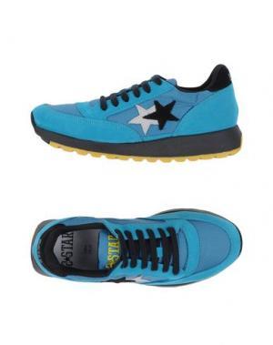 Низкие кеды и кроссовки 2STAR. Цвет: бирюзовый