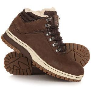 Ботинки зимние  H1ke Territory Dark Brown K1X. Цвет: коричневый