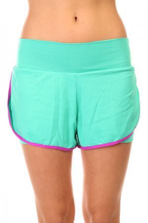 Шорты пляжные женские  Trend Shorts Blue CajuBrasil. Цвет: голубой