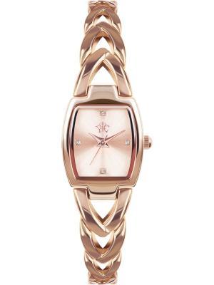 Часы РФС. Цвет: розовый, золотистый