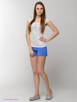 Пижама HAYS. Цвет: синий, белый, голубой, коралловый