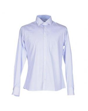 Pубашка HERMAN & SONS. Цвет: небесно-голубой