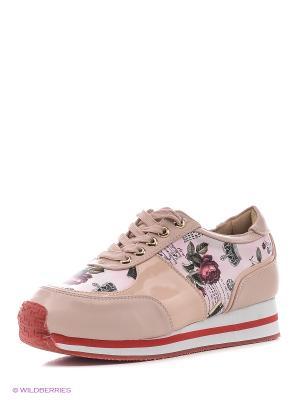 Кроссовки BALD EAGLE. Цвет: розовый