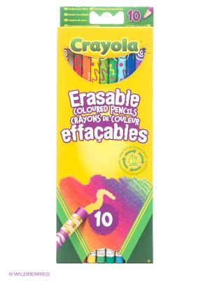 Набор цветных карандашей с корректорами Crayola. Цвет: желтый