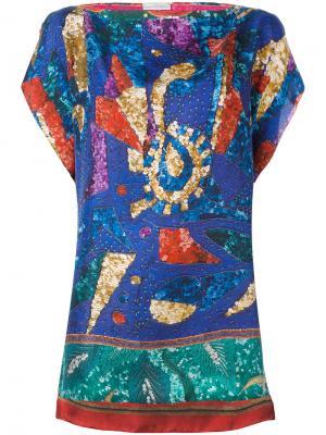 Sequin detail blouse Pierre-Louis Mascia. Цвет: многоцветный