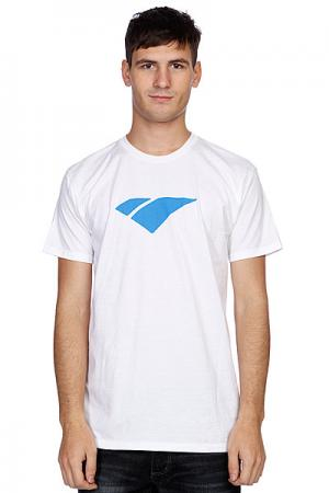 Футболка  Classic Icon White/Blue I/S Eyewear. Цвет: белый