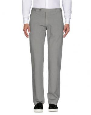 Повседневные брюки PANAMA. Цвет: серый