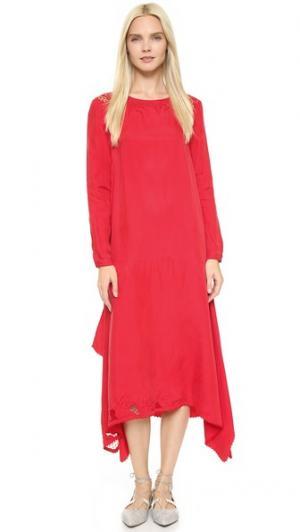 Платье Oko Rodebjer. Цвет: оранжевый