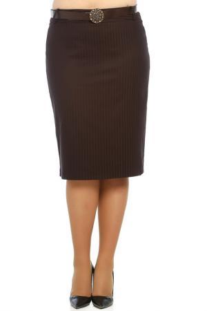 Юбка Milanesse. Цвет: коричневый