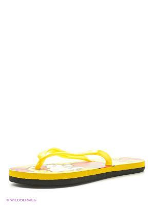 Шлепанцы De Fonseca. Цвет: желтый