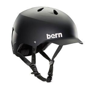 Шлем для скейтборда  Bike Eps Watts Matte Black Bern. Цвет: черный