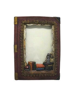 Фоторамка Книга Miolla. Цвет: коричневый