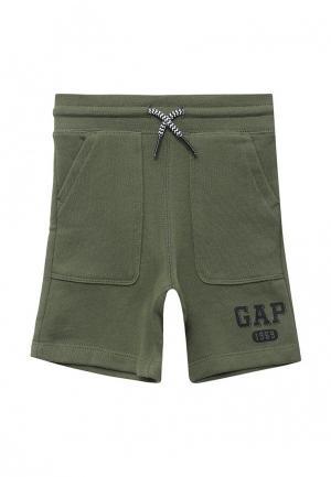 Шорты Gap. Цвет: хаки