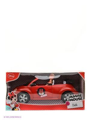Штеффи Minnie Mouse на авто, 40 см, 29 см., 1/6 Simba. Цвет: красный