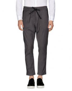 Повседневные брюки FALORMA. Цвет: серый